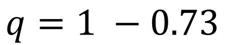 Hardy-Weinberg allele example 2