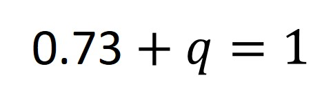 The Hardy-Weinberg Equations And How To Use Them